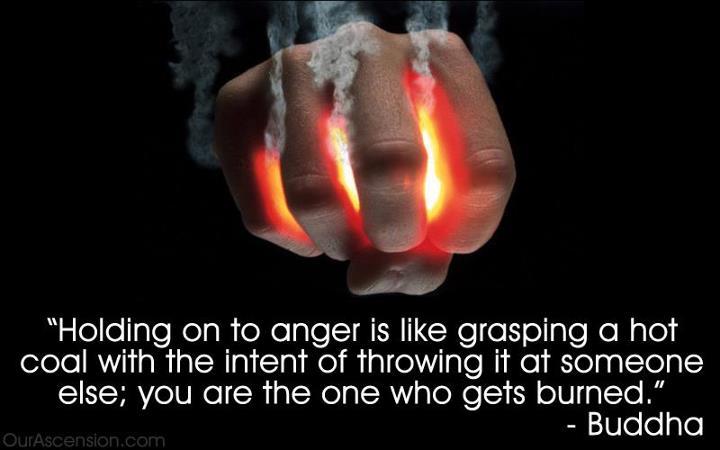 Anger holding