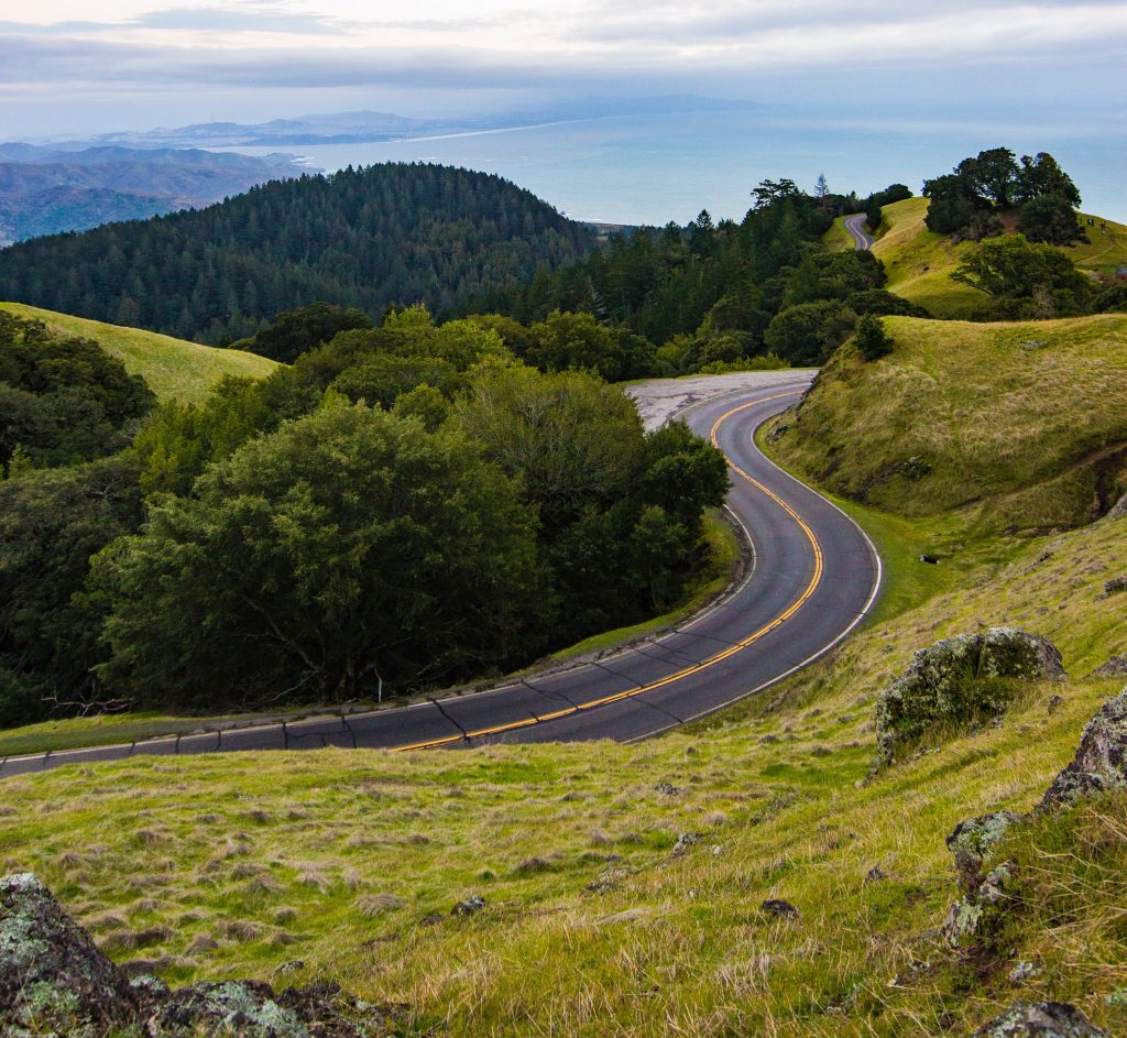 the curvy road we take when in emotional chaos